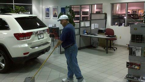 AUTO DEALERSHIP CLEANING SERVICES FROM MGM Household Services