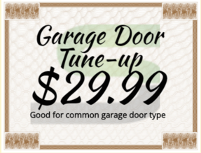 Las Vegas garage door repair coupons
