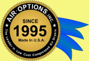 Air Options Inc, the leader in Low Cost compressed air dryers since 1995
