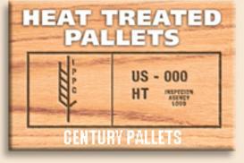 Heat Treated Ispm 15 Pallets - Century Pallets