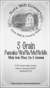Nora Mill 3 Grain Whole Grain Wheat Rye Cornbread
