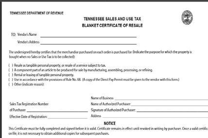 tennessee resale certificate DEALER_setup_gtp_network