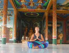 Yoga for Horse Riders, Yoga for Riders, yoga in cambodia