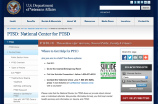 VA PTSD Center