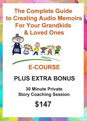 How to create and record audio memoirs for your grandkids