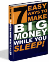 7 Easy Ways to Make Big Money While You Sleep