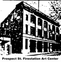 Prospect St, Firestation Arts Center logo