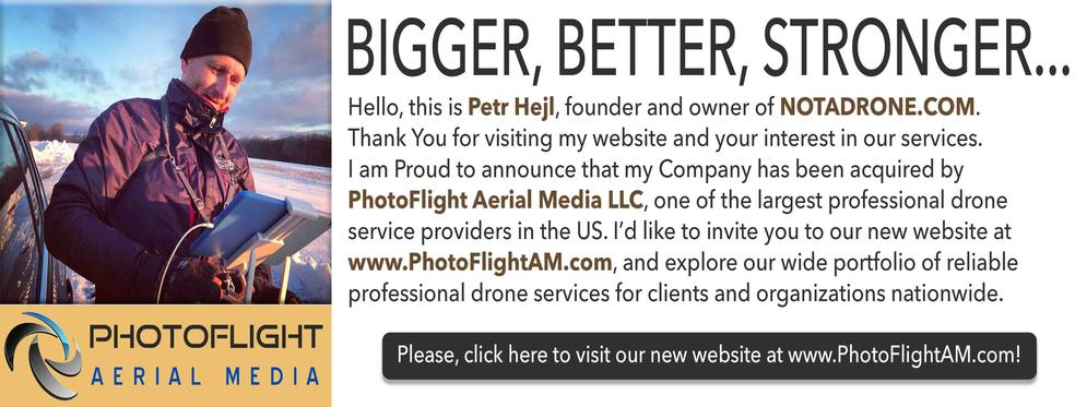PhotoFlight Aerial Media - Professional Drone Service Provider