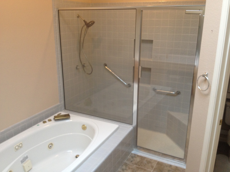Concrete Shower - Artistic Countertops & Coatings Llc - Phoenix, Az