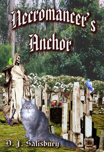Necromancer's Anchor by author DJ Salisbury