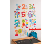 Counting Numbers Wallplay Peel & Stick Wall Decal Multicolor from Target