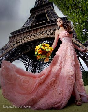 QUINCEANERA IN PARIS SWEET 15 SHOW