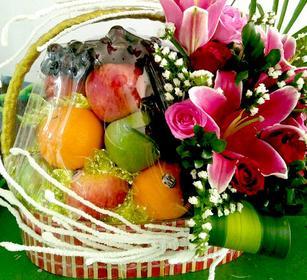 giỏ hoa quả sinh nhật đẹp, quà tặng chúc mừng sinh nhật