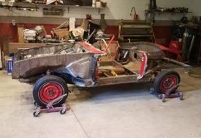1955 Mercedes Benz 190SL Project