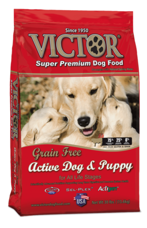 Victor Grain Free Active Dog and Puppy Dog Food for all life stages