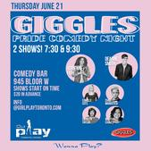 GirlPlay Toronto Giggles Comedy Night
