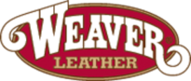 Weaver Leather goods logo, provides horse, cattle and dog leather goods