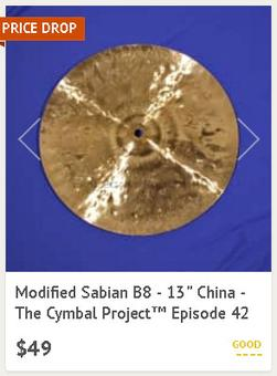 The Cymbal Project - Lance Campeau