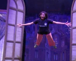 Valonda Flying In Peter Pan