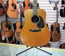 Pictured 1953 Martin D 18 Acoustic Guitar