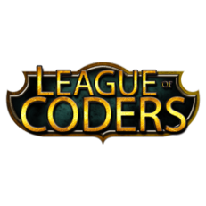 League of Coders Sticker