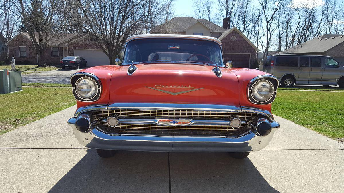 1957 Chevrolet Bel Air Convertible Chevy Bellaire