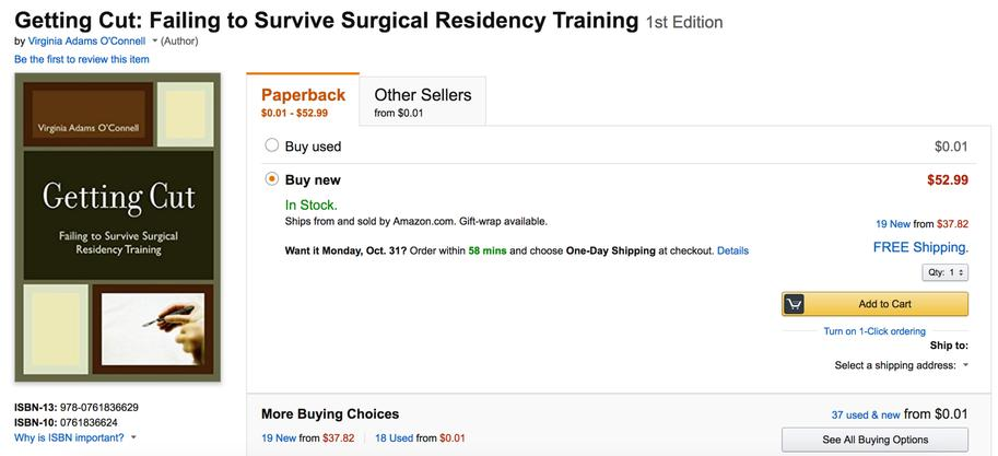 Residency Rehab - Advice, African American Surgical/Medical