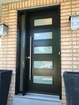 Modern entry door - Steel door