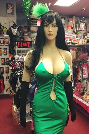 Sexy St Patty's Day lingerie at Xsentuals