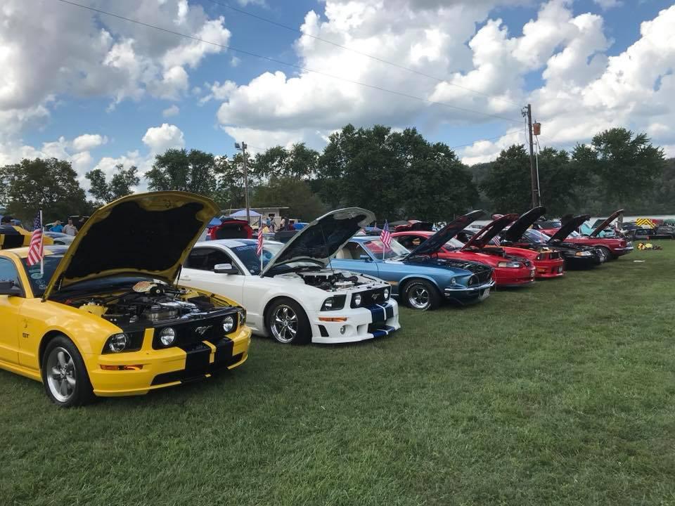 Augusta Kentucky Heritage Days Car Show - Augusta car show