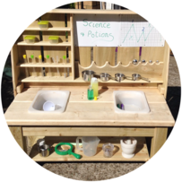 Evergreen Outdoor Education Early Years play