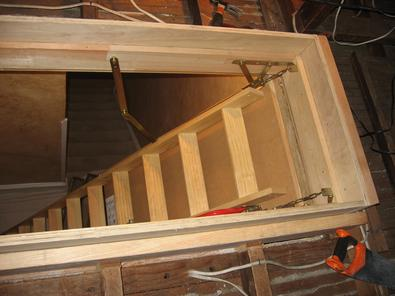 Attic Door Installer Boulder City Attic Ladder Installation Replacement Services Boulder City NV | McCarran Handyman Services