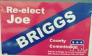 Re-Elect Joe Briggs Magnets & Banners