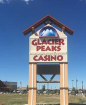 Glacier Peaks Casino High-Rise Signs