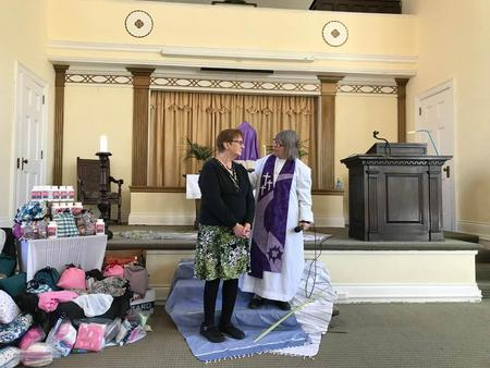 Blessing of the Haiti Birthing Bags