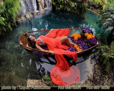 Quince Canoe Photography Miami Quinces Sweet Sixteen Canoe