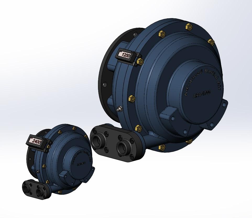Advanced Radial Air - Motors, Drivers, industrial Air Compressors