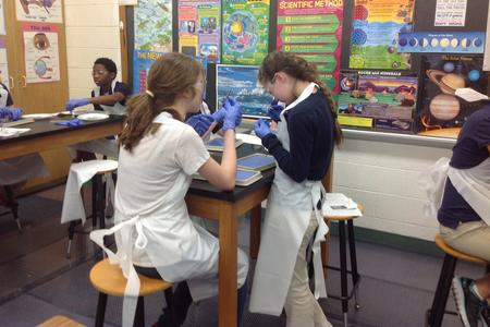 junior high science lab