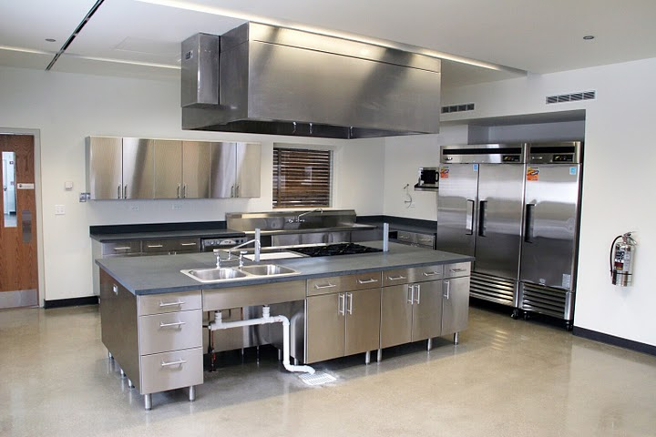 stainless steel kitchens - stainless steel kitchen cabinets