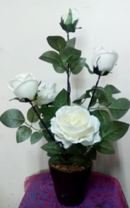 Artifical Rose Plant in pot | Artificial Flowers