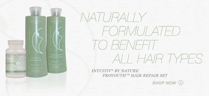 Intuitiv® by Nature ProYouth™ Hair Repair Shampoo, scalp rejuvenation, vibrant hair, hair restoration