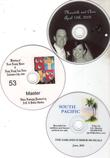 DVDs with a wedding video recording in Garland, TX