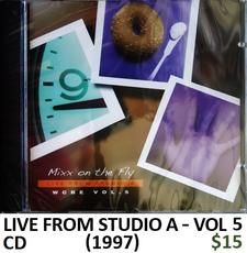 WCBE Live from Studio A Vol 5 CD