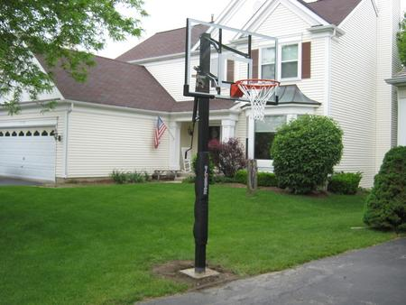 In-Ground Basketball Hoop Assembly Basketball Goal Installer Service and Cost in Las Vegas NV – MGM Household Services