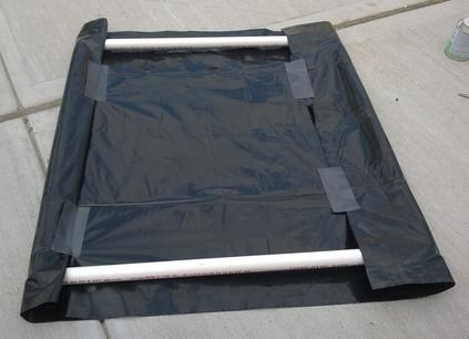 Easy DIY Solar Pool Heater made with PVC