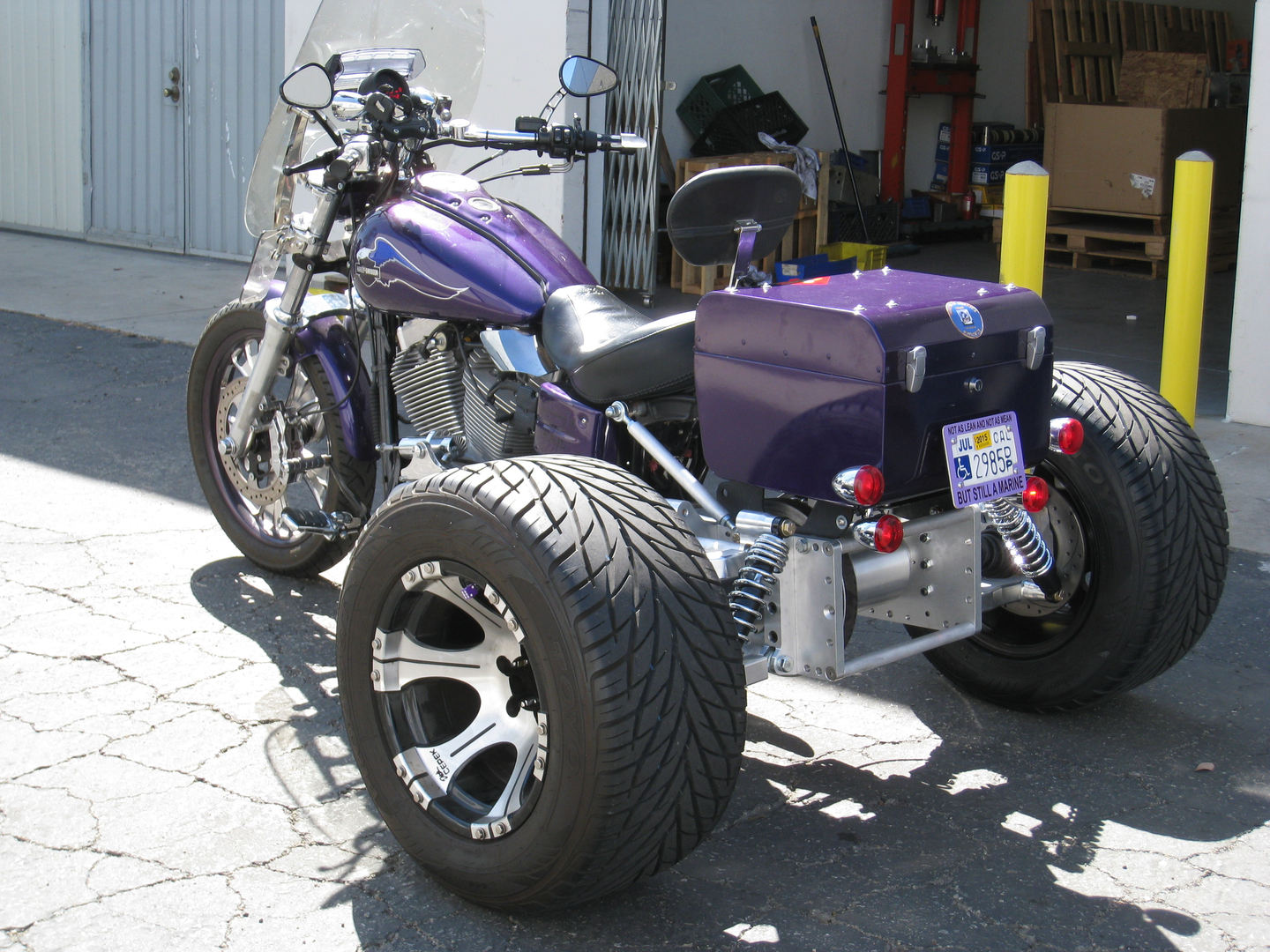 Trike Kits for Harley-Davidson Trike Conversion-IMC Trike IRS Trike