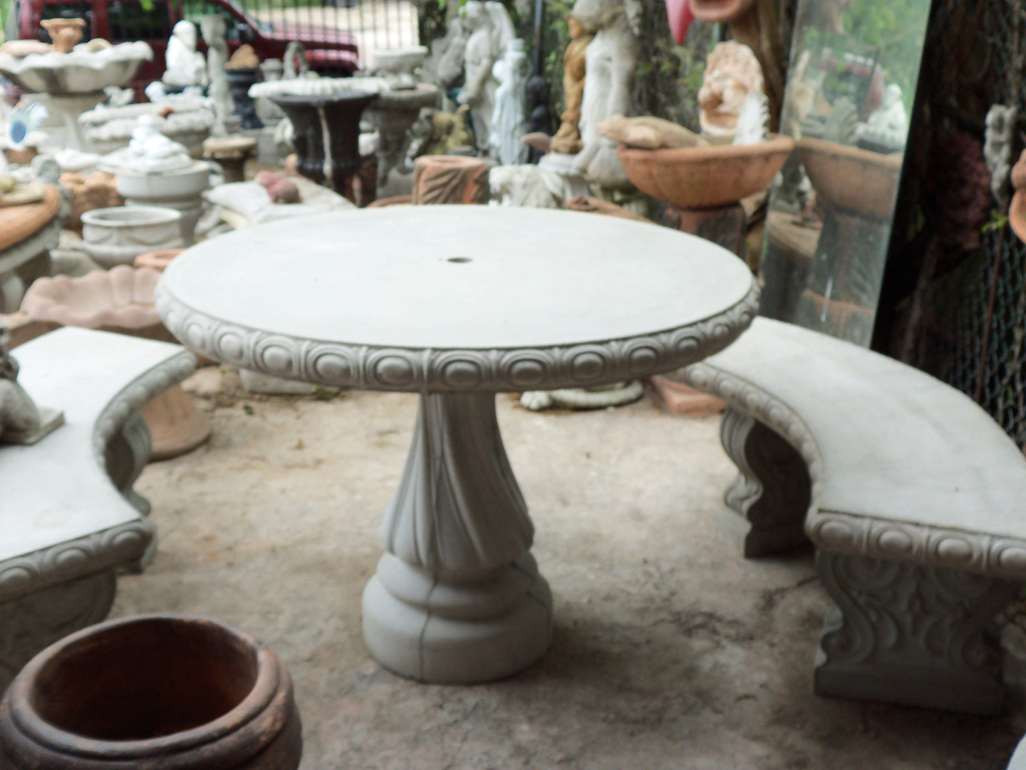 Concrete Statuary Houston Garden Accessories Americas