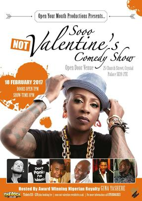 Gina Yashere, comedy show, open your mouth productions, mason's rum punch