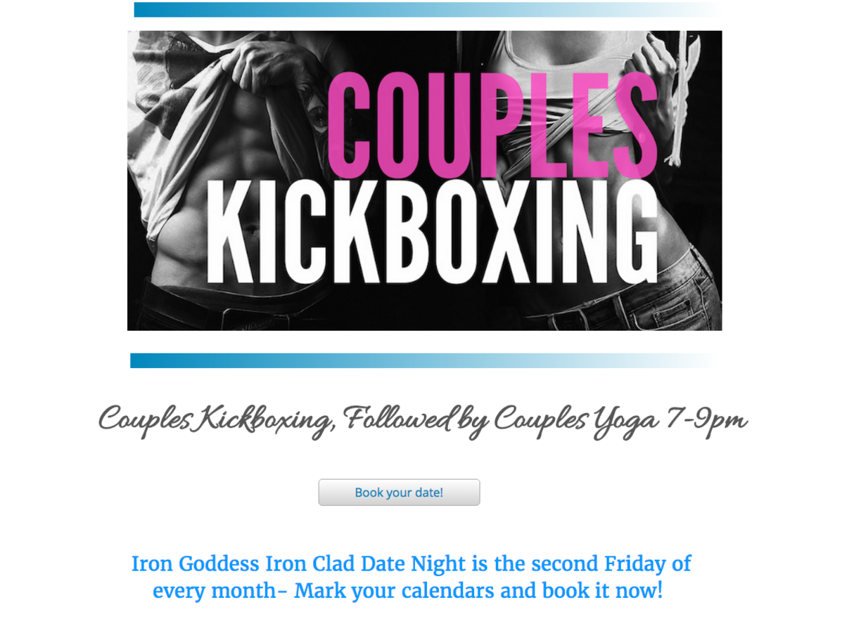 Couples Kickboxing, Date night, Sherwood Park, fit couples, Fitness, Gym, Yoga