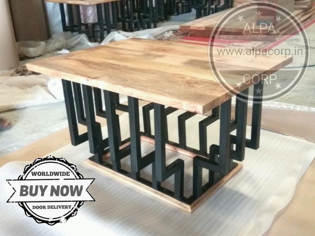 Alpa Corp Industrial Furniture Crank Table Base